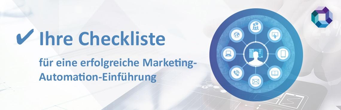 Checkliste Marketing Automation